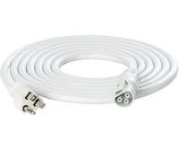 PHOTOBIO 10F 16AWG WT 110-120V Plug, 5-15P,Harness CHE1063010W