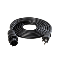 IL 120V Power Cord Wieland Female to Male NEMA 5-15 Plug/DE and CMH Fixtures/15/4.5m