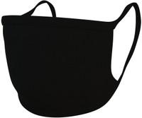 International Enviroguard Black Washable Cloth Face Mask w/antimicrobial finish 10-PK EG83600