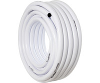 Active Aqua Active Aqua 1 ID White and Black Tubing 100 HGTB100WB