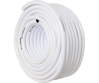 Active Aqua Active Aqua 1/2 ID White and Black Tubing 100 HGTB50WB