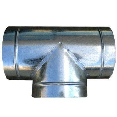 Dealzer 8x8x8 T Duct Connector