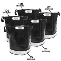 Dealzer 5 Gallon Bubble Magic Extraction Bags set of 5