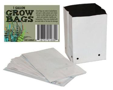 Dealzer 1 Gallon PE Film Grow Bags