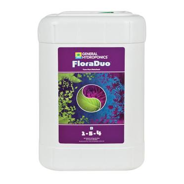 General Hydroponics GH FloraDuo B, 6 gal