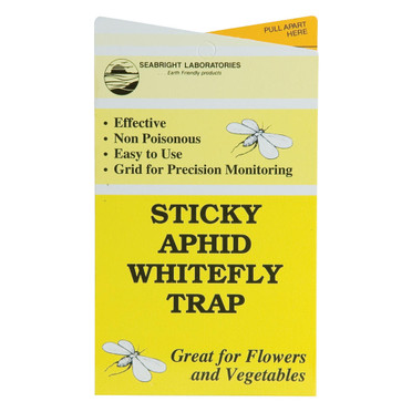 Seabright Seabright Sticky Aphid/Whitefly Traps, 5 Pack