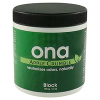 Ona Block Apple Crumble 6 oz Cs