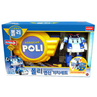 Robocar Poli Deluxe Transforming Base Playset Toy - Poli