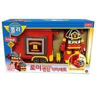 Robocar Poli Deluxe Transforming Base Playset Toy - Roy