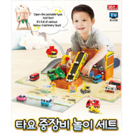The Little Bus Tayo Heavy Equipment Play Set