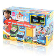 The Little Bus Tayo Talking Central Bus Garage Depot Play Set