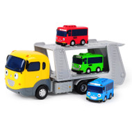 The Little Bus Tayo Carry & Tayo Friends Wind Up Car Toy