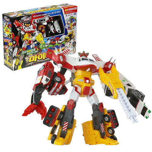 Hello Carbot Mighty Guard - 4 Copolymers Transformer Robot