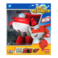 Super Wings - Hogi (Jett) Transforming Jet Plane Toys Figure