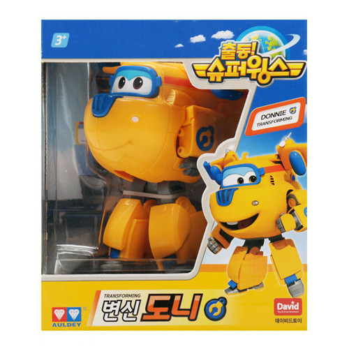 Super Wings - Donnie Transforming Plane Toys Figures