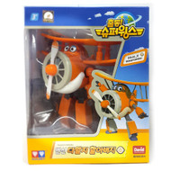Super Wings - Grand Albert (Daalji) Transforming Air-Plane Toys Figures