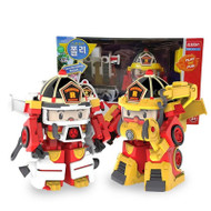 Robocar Poli Space Fireman Pack - Roy (4 Mode Transformer Robot)