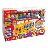 Pororo & Friends - Pororo School Bus Melody Play Set