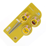 Kakao Friends - Character Trio Change Training Chopsticks (MUZI)
