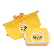 Kakao Friends - Pouch Lunch Box Bag Set (MUZI)