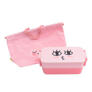Kakao Friends - Slim Pouch Lunch Box Bag Set (APEACH)