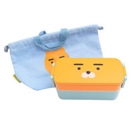 Kakao Friends - Slim Pouch Lunch Box Bag Set (RYAN)