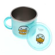 Kakao Friends - Safety Handle Transparent Non Slip Cover Cup (TUBE)
