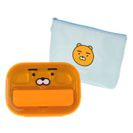 Kakao Friends - All-in-One Spoon Case Food Tray Bag Set (RYAN)