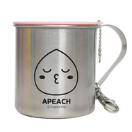 Kakao Friends - Portable Cover Stain Mug Cup (APEACH)