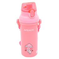 Copy a Product - Kakao Friends - One Touch Shoulder Strap Water Bottle 450ml (APEACH)