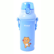 Kakao Friends - One Touch Shoulder Strap Water Bottle 450ml (RYAN)