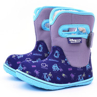 Disney Baby Adorable Lovely Winter Warm Waterproof Snow Boots Shoes (Toddler/Little Kid) - Navy (Monster Sulley)