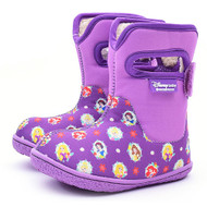 Disney Baby Adorable Lovely Winter Warm Waterproof Snow Boots Shoes (Toddler/Little Kid) - Violet (Princess)