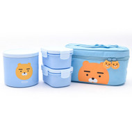 Kakao Friends - Bag Keeping Warm Lunch Box Set (L) (Ryan)