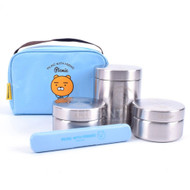 Kakao Friends -All Stainless Bag Lunch Box Set (Ryan)