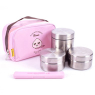 Kakao Friends -All Stainless Bag Lunch Box Set (Apeach)
