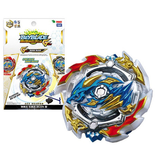 Beyblade Burst GT Starter B-133 DX Starter Ester Ace Dragon .St.Ch Zan with Light LR Bey Launcher - Takara Tomy Original Box