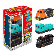 Titipo and Friends Pull-Back Toy Train 3pcs Set (Version 3)