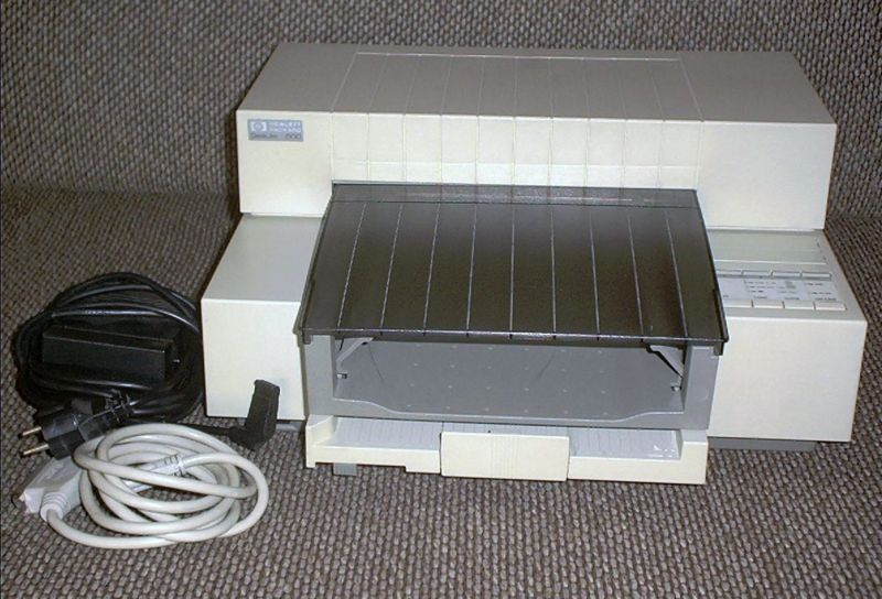old inkjet printer