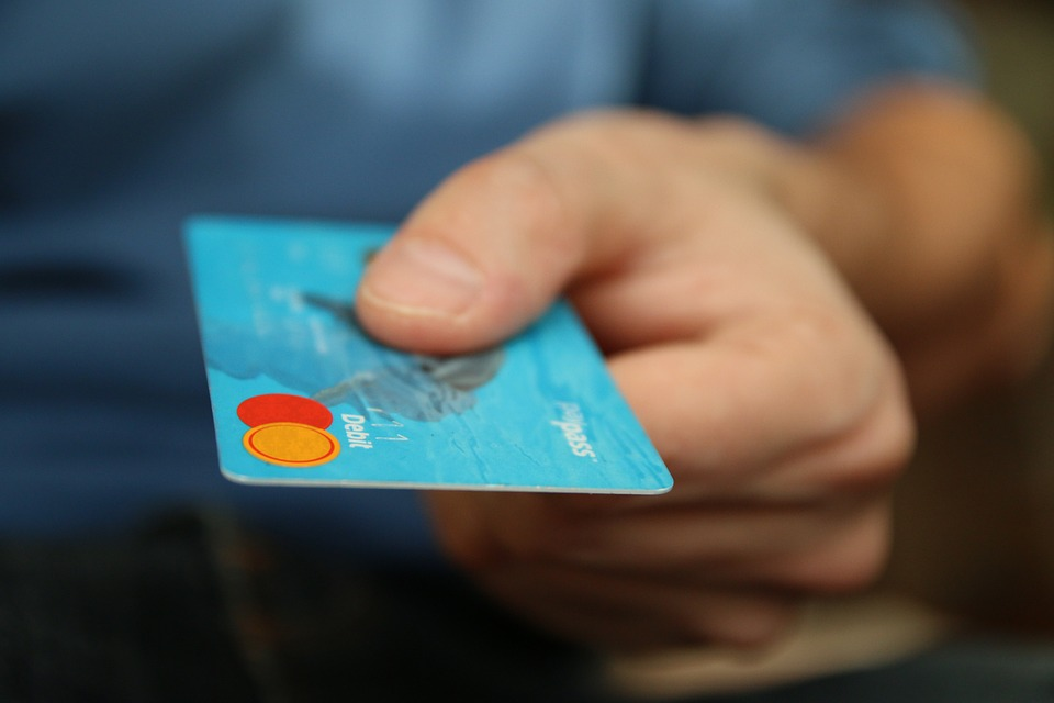using a debit card to make a purchase