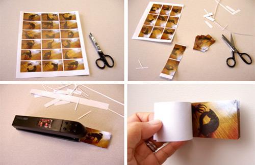 Easy Flip Book DIY for Kids