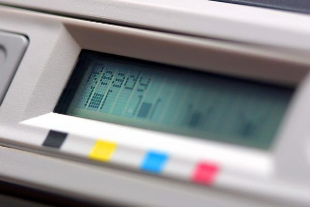 printer ink and toner cartridge levels