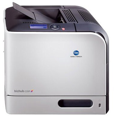 KONICA BIZHUB C20P PRINTER