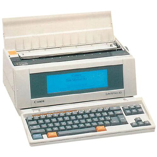 Canon Starwriter-80-WP printer