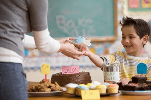 Raising money via fundraiser