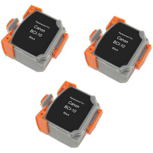 Canon BCI-10Bk - 3 Pack