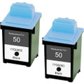 Lexmark #50 - 17G0050 Black 2-pack replacement