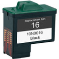 Lexmark #16 - 10N0016 Black replacement