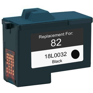 Lexmark #82 - 18L0032 Black replacement