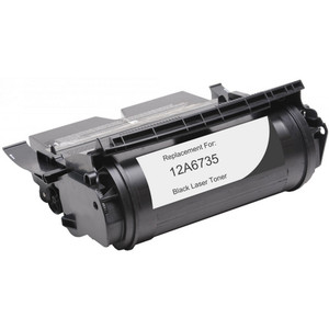 Lexmark 12A6735 Black replacement